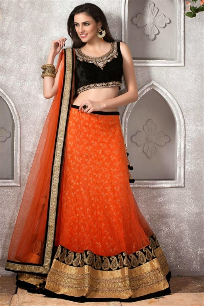 beautiful lahnga designs for party