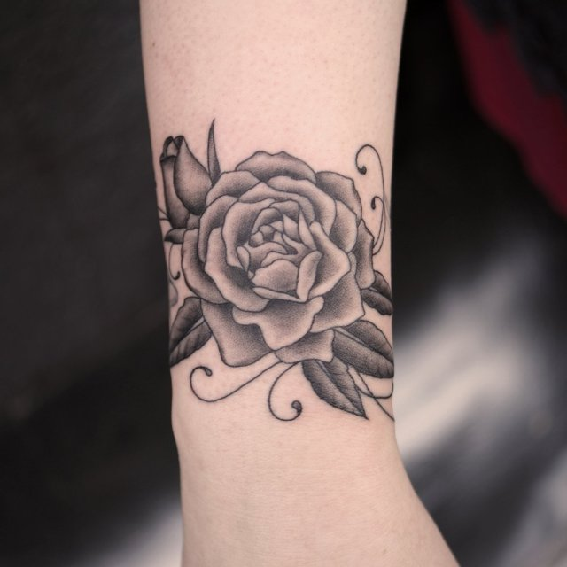 female wrist tattoo designs