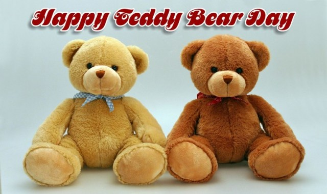 happy teddy bear day messages collection