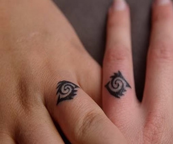 tiny finger tattoo design ideas