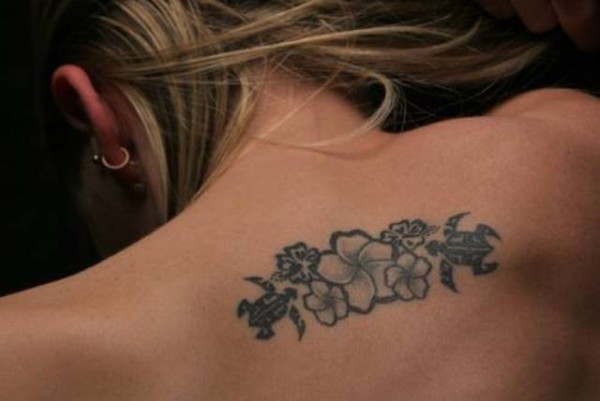 Female Flower Tattoos