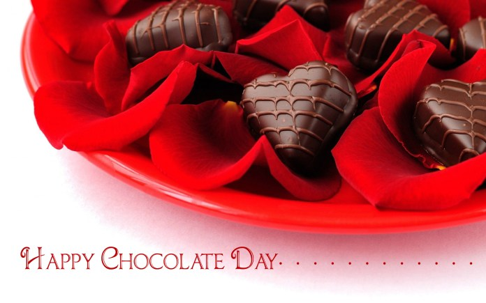 happy chocolate day messages