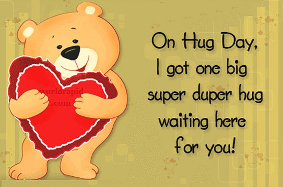 happy hug day funny wallpapers