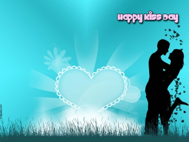 happy kiss day hot photos