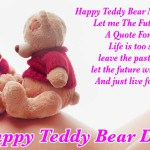 Happy teddy Bear Day Whats App DP Status Quotes Messages Wallpapers Photos Collection