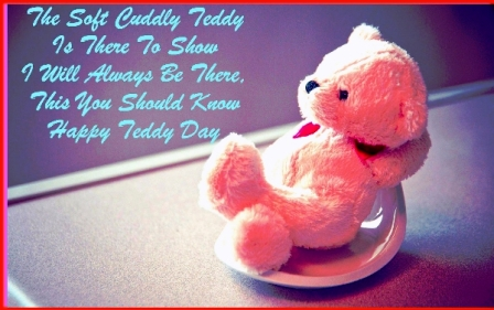 happy teddy bear day cute images