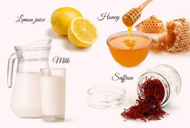 Lemon Juice, Milk And Honey
