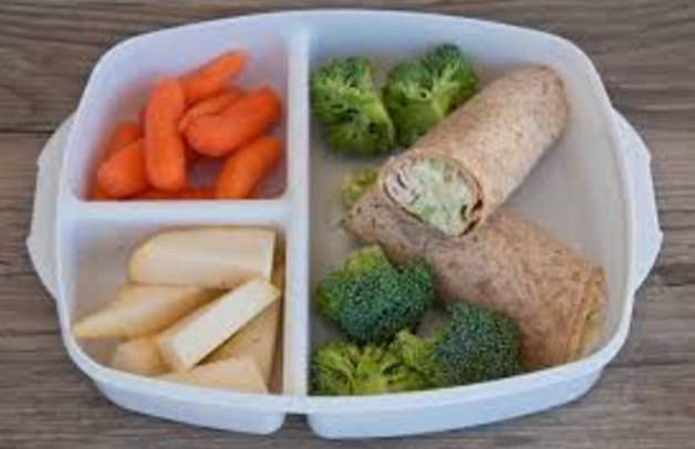 fresh vegetables, whole grains, fruits and low fat protein