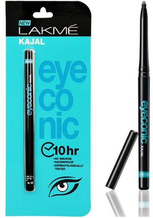 how to apply kajal on eyes