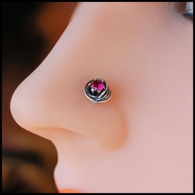 cute nose ring pattern