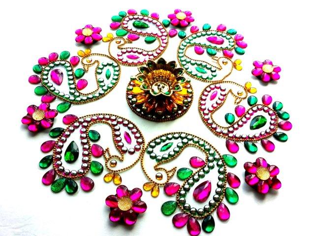 beautiful motif rangoli designs