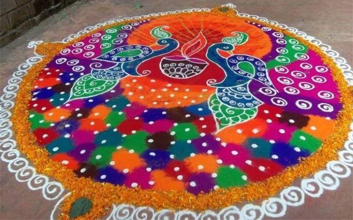 deepawali rangoli designs