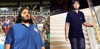 anant ambani weight loose before and after pics