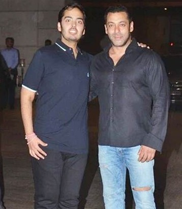 anant with salman khan