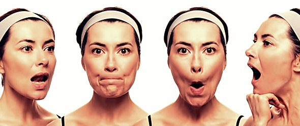chin exercise to loose face fat