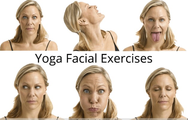 facial exercises to loose face fat