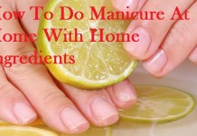 steps how to do manicure at home