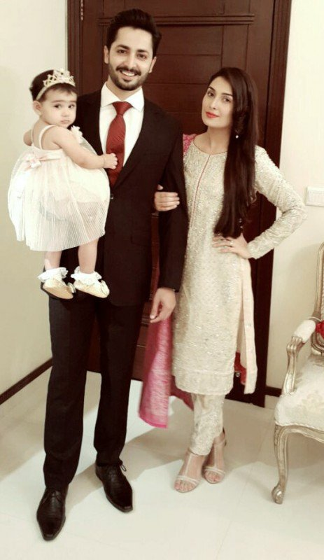 Ayeza Khan photos with family