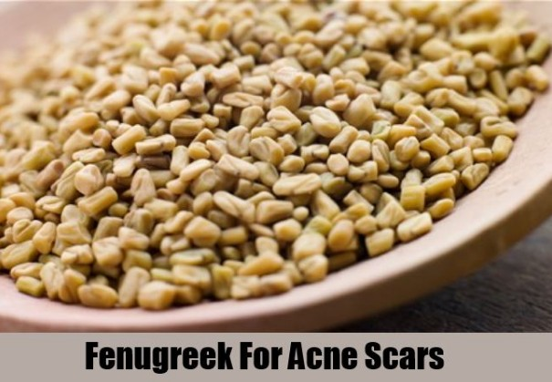 Fenugreek Seeds Cures Acne