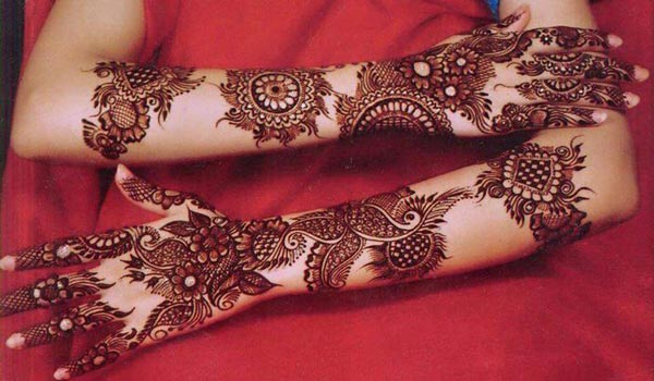 new mehendi design
