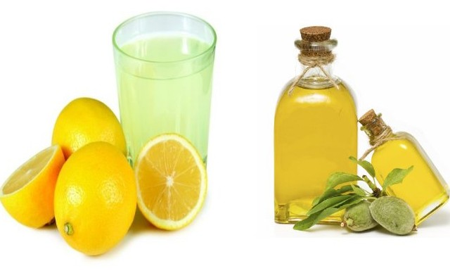 Lemon Juice And Almond Oil Massage To Get Rid Of White Hairs Naturally