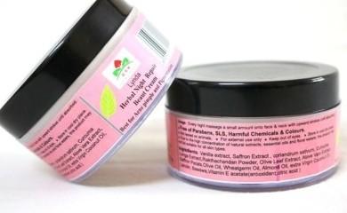 Lynda Herbal Night Repair Anti-Acne And Pimples Cream
