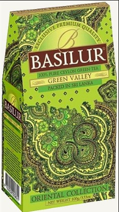 basilur green tea