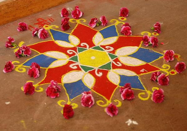 Diya Stand Designs : Top beautiful easy rangoli designs for diwali