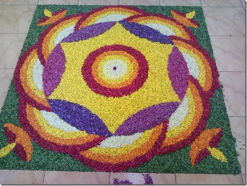 easy beautiful rangoli design pattern