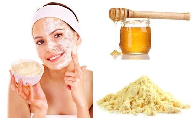 gram flour rTo Get Fair Skin