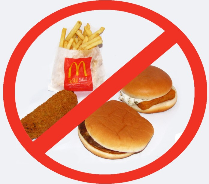 junk food Say No Eat healthy reduce weight quickly