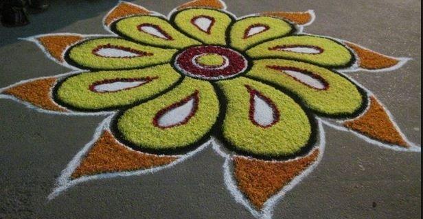 good diwali rangoli design