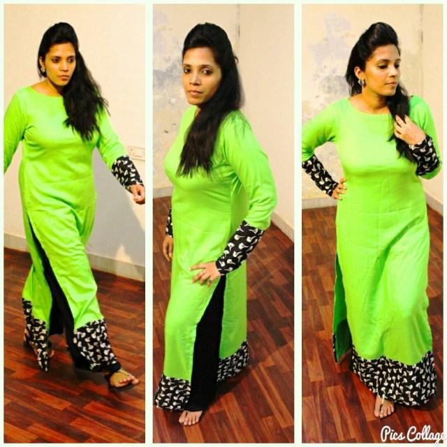 latest straight kurti design