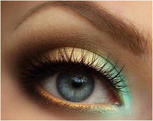 eye makeup look