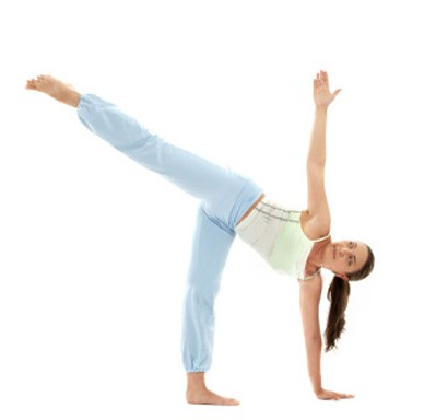 Half Moon Pose For Weight Loss