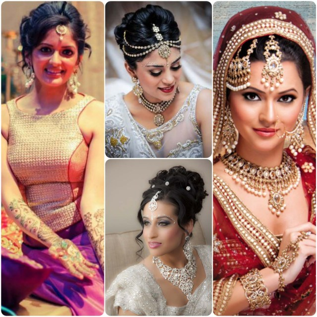 indian wedding bride hairstyle