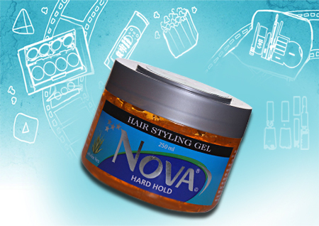 Nova Hard Gel Best Hair gel for men Best hard Hair gel