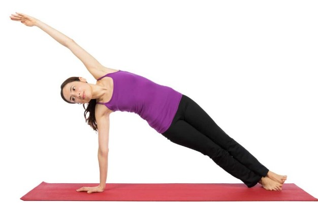 Side Plank Pose For Weight Loss