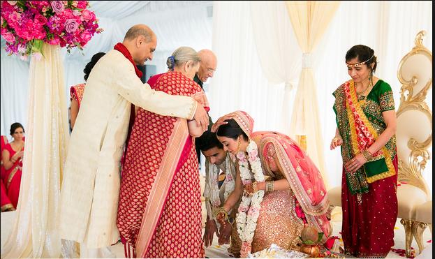 ceremony in gujarati wedding