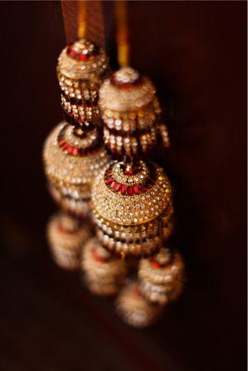 golden red kalire for punjabi wedding