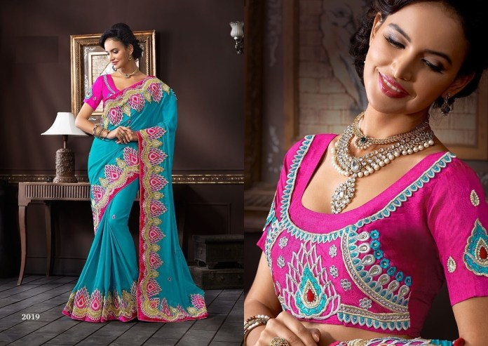 designer wedding blouse designs