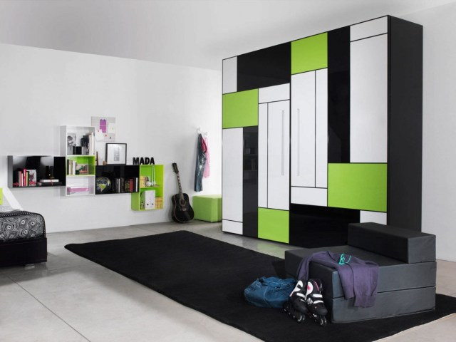 beautiful colored wardrobes designs for bedrooms