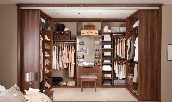 bedroom walk in wardrobe designs