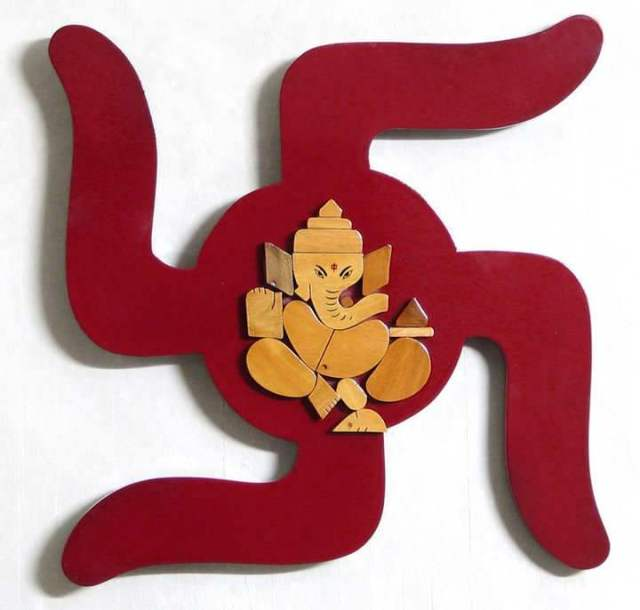 ganesha on swastik images