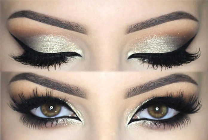 wedding bridal eye make up