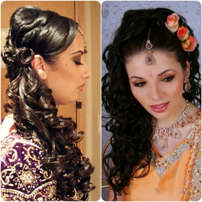 trendy hairstyle for curly hair