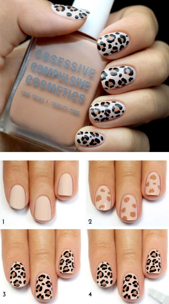 simple step by step nail art tutorial