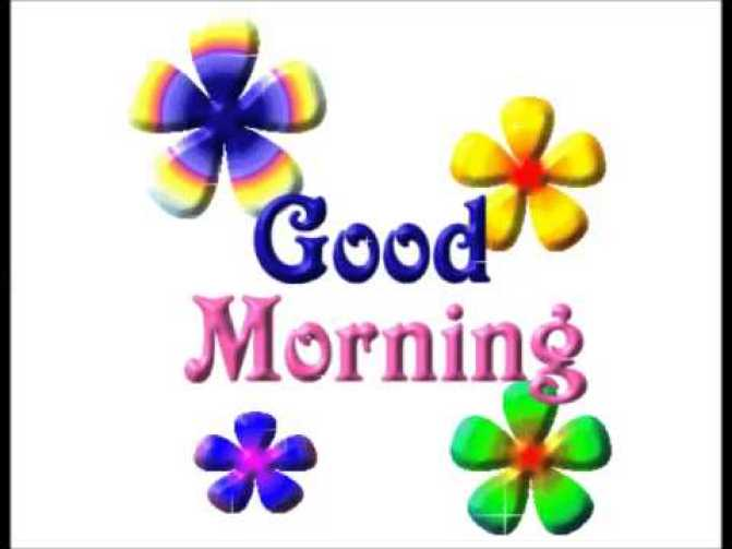 morning sms 1