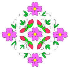 muggulu designs with dots pics