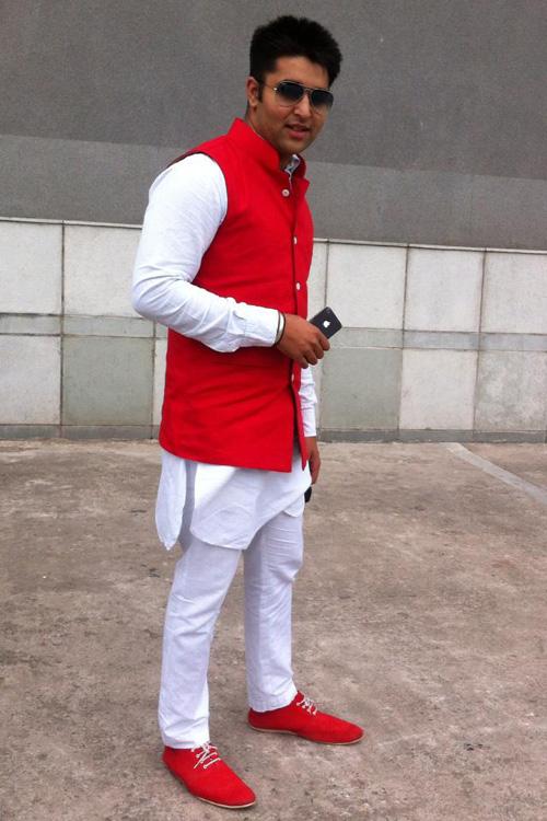 punjabi style kurta pajama